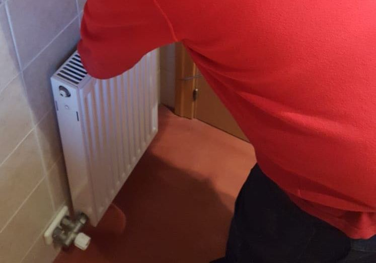 pasos purgar radiador