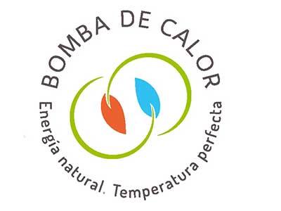 logo bomba de calor energia natural