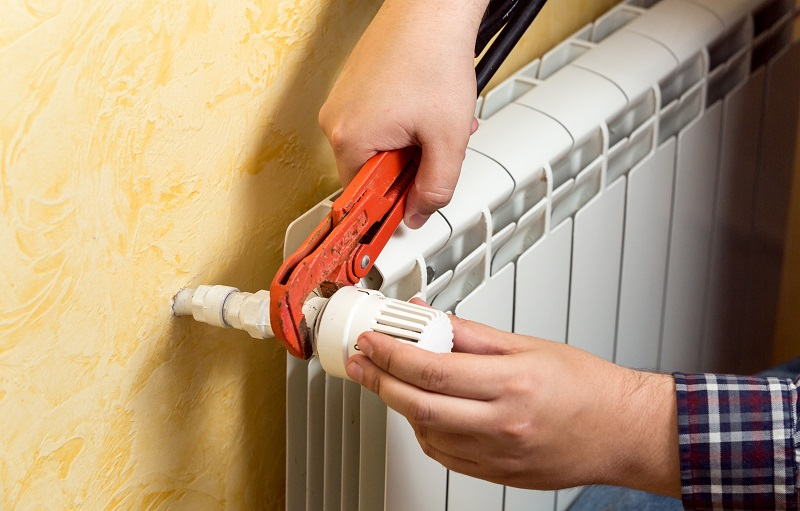 causas radiador no calienta