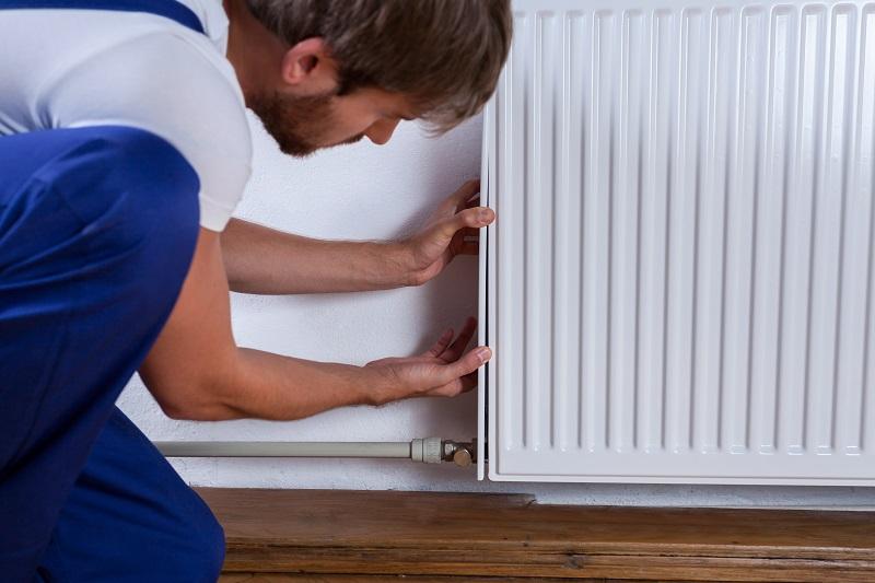 obstruccion radiador no calienta